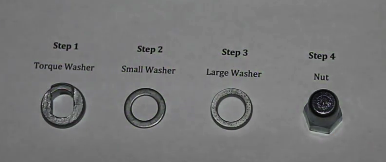 250 Series Washers and Nut