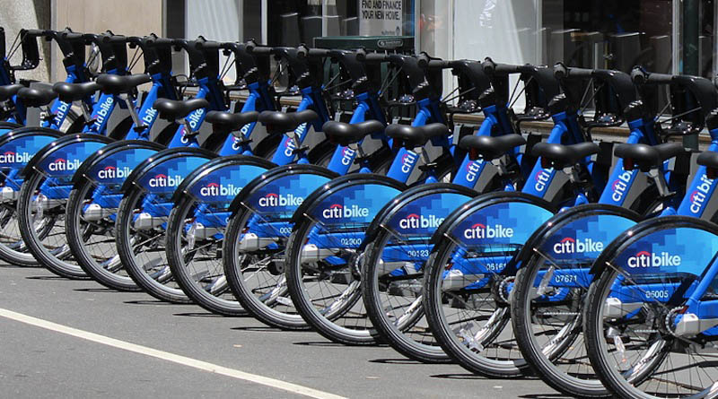 citibike bike shares