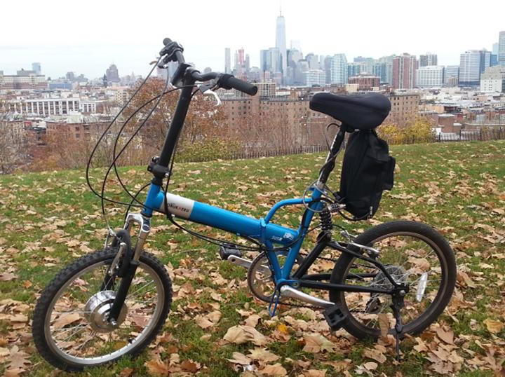 Citizen Folding Electric Bicycle Kit