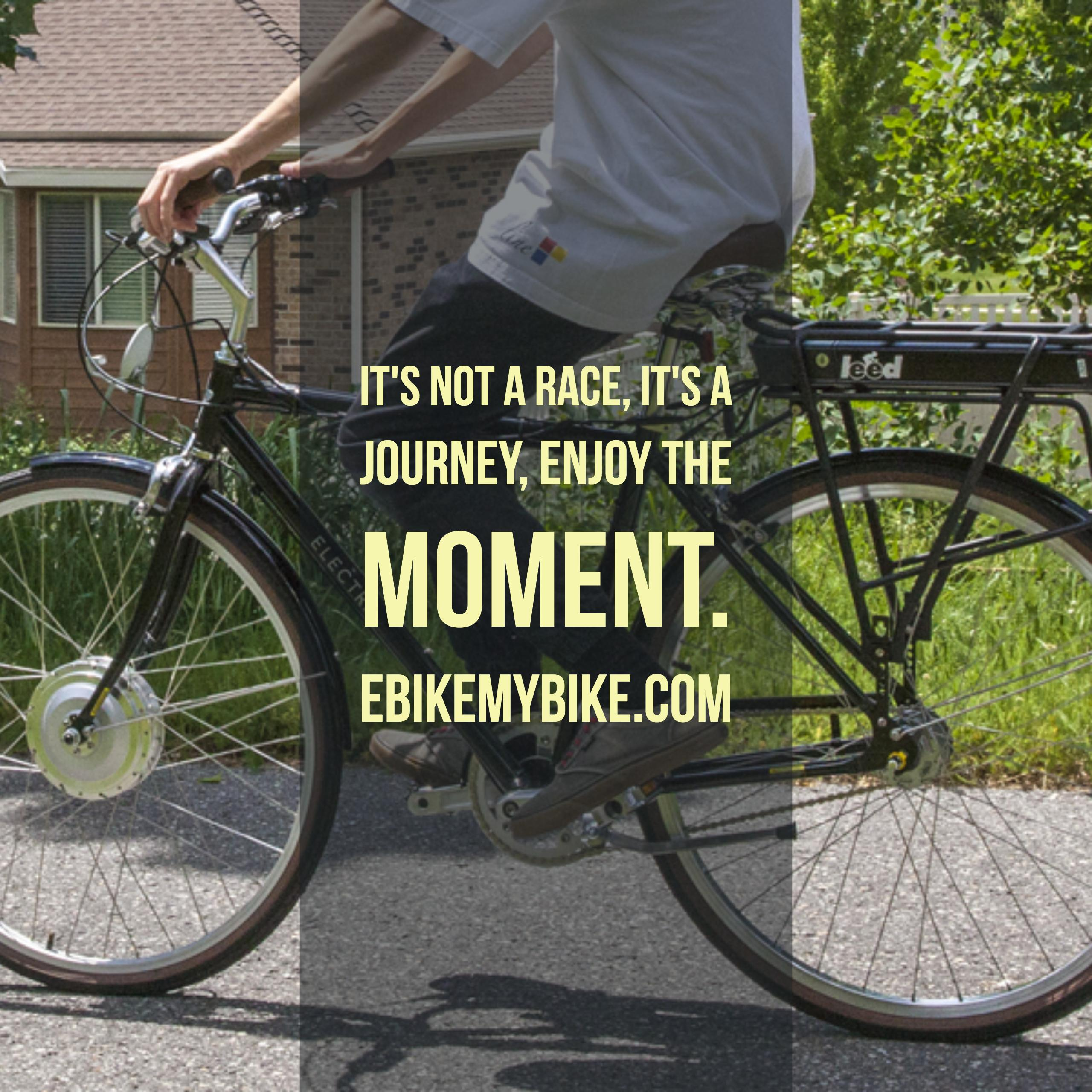 commute with an electric bike