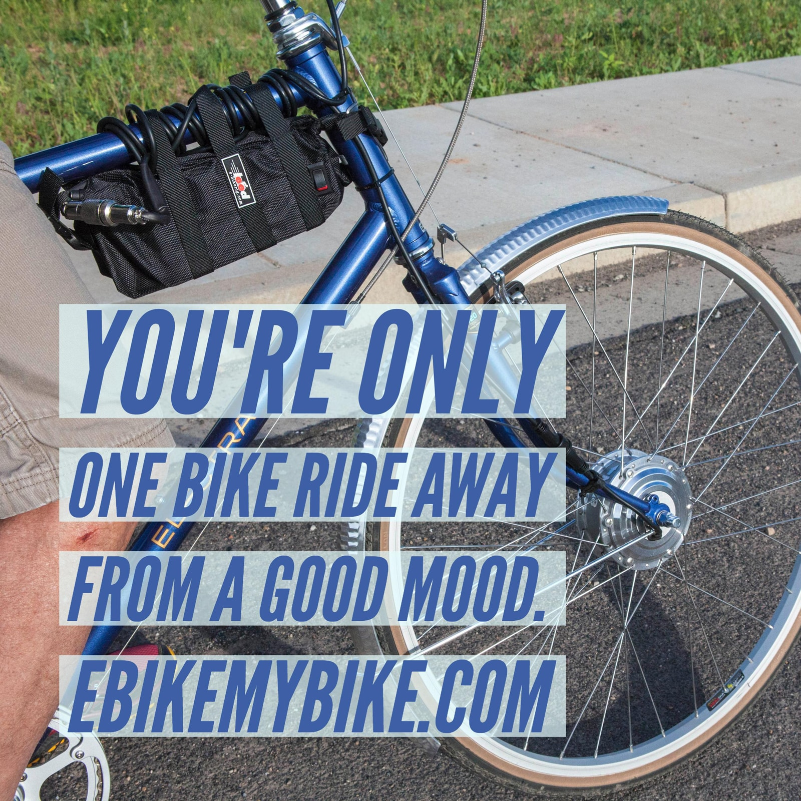 electric bike commuting with an electric bike motor