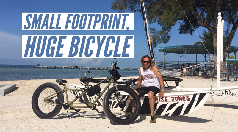 Live a small carbon footprint lifestyle and commute by bike in style.