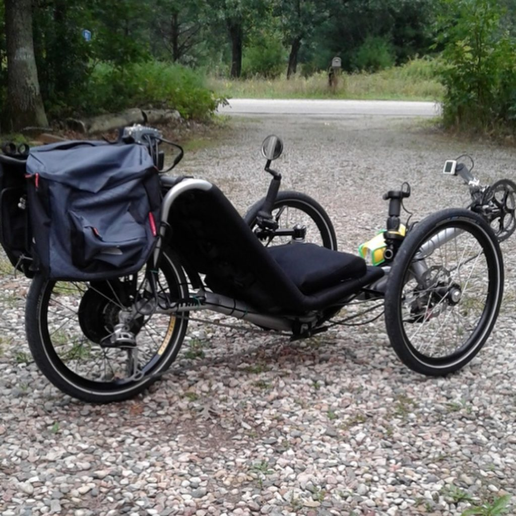 """""""I put this kit on a Catrike Trail recumbent tricycle, and I love the way it works. The motor is quiet and smooth, with way more power than I'll ever need."""" e-bikes"""