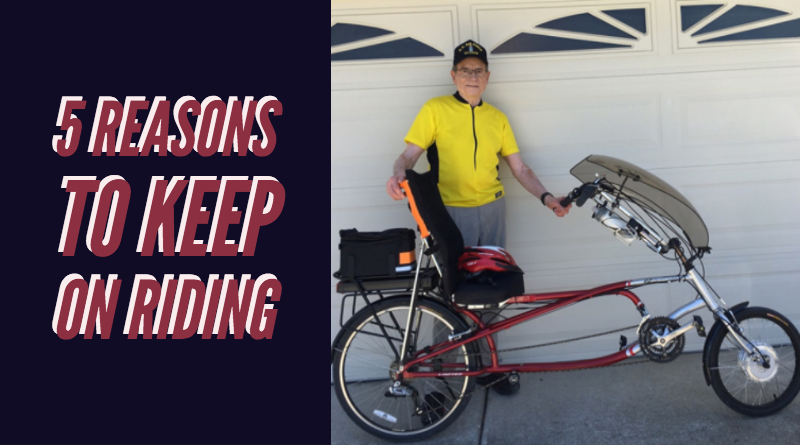 5 reasons to stay young on an electric bike