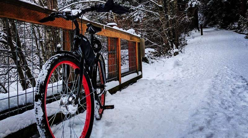 commute by bike or an ebike even in the winter