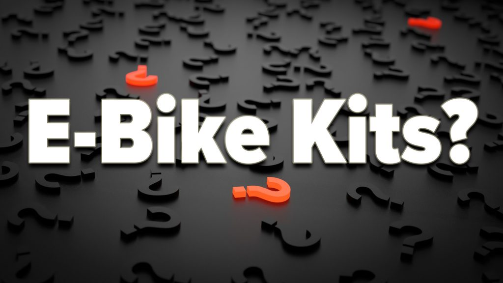 Is an e bike kit right for me?