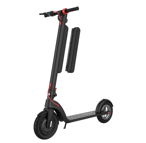 Electric Scooter with Replaceable Batter